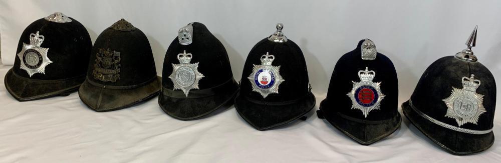 British & Commonwealth Police Bobby Helmets