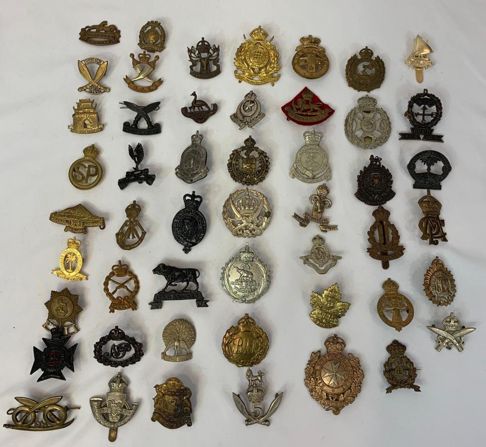 British & Commonwealth Regimental Badges