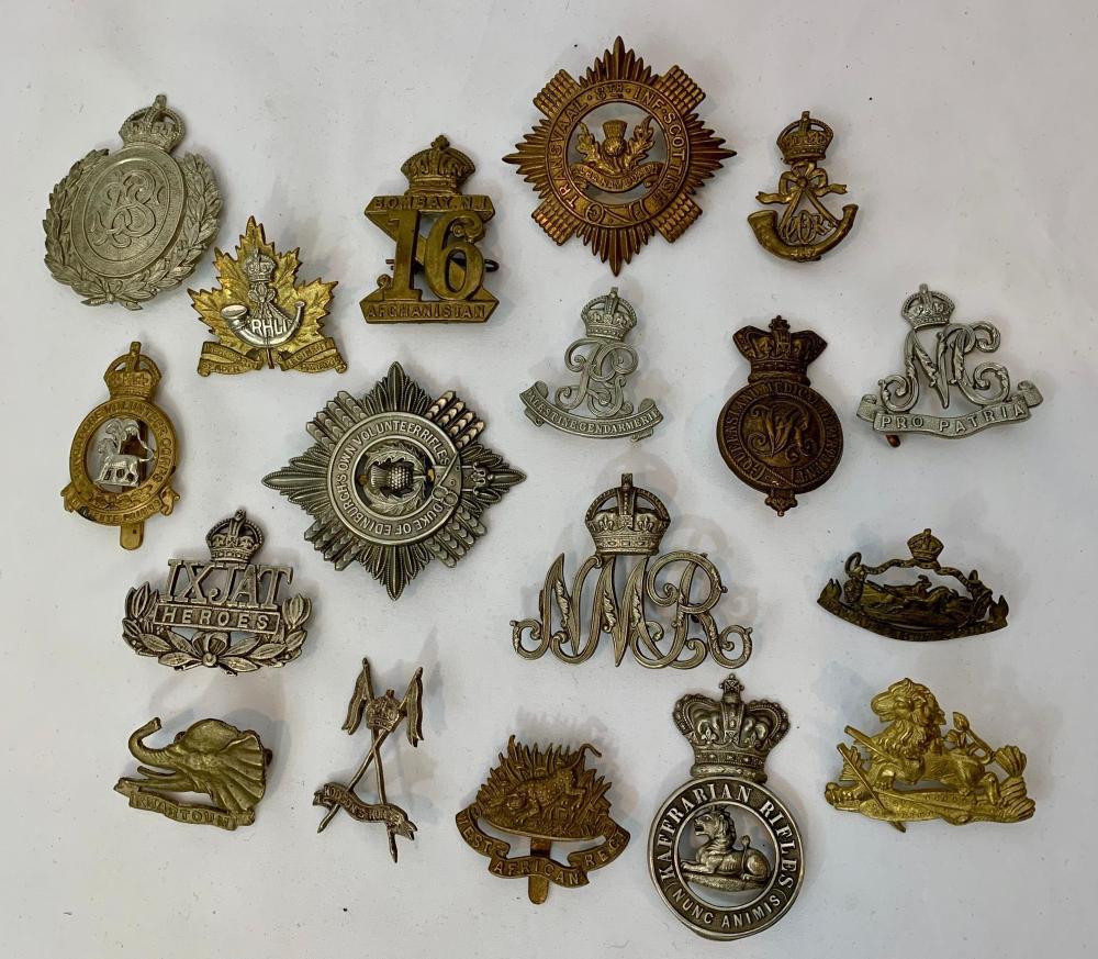British Military Regimental Badges