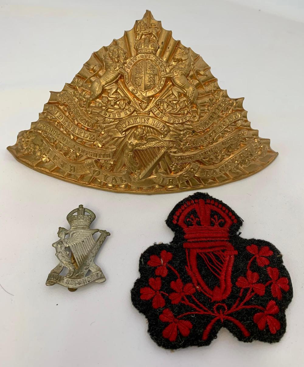 Irish Regimental Items