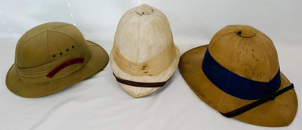 British Military Pith Helmets