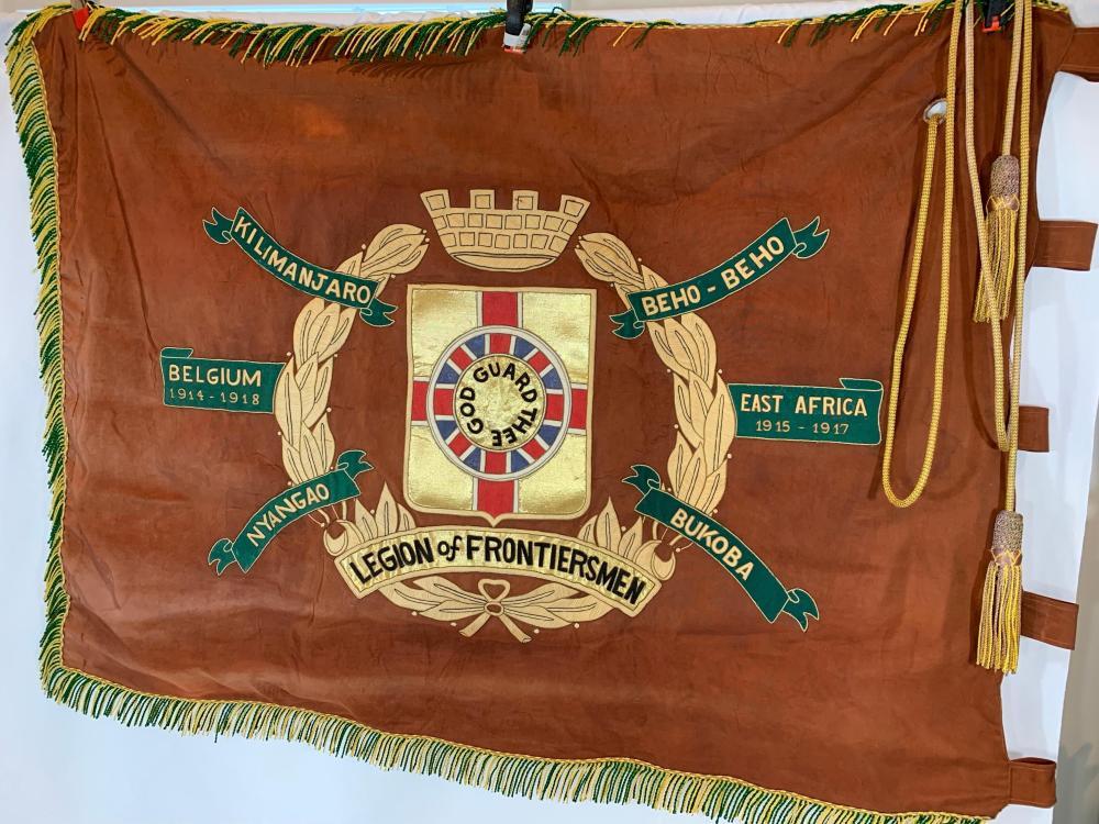 Legion of Frontiersman Banner