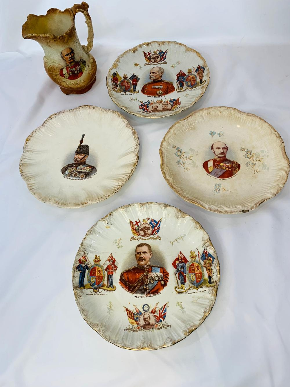 British Military Victorian China