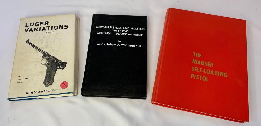 Three German Military Gun & Firearms Books