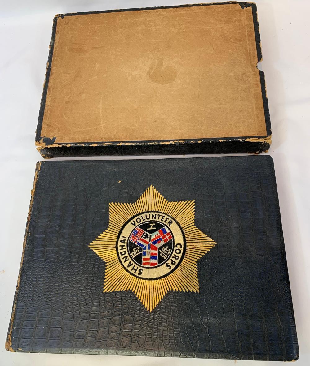 Very Rare Shanghai Volunteer Corps Book