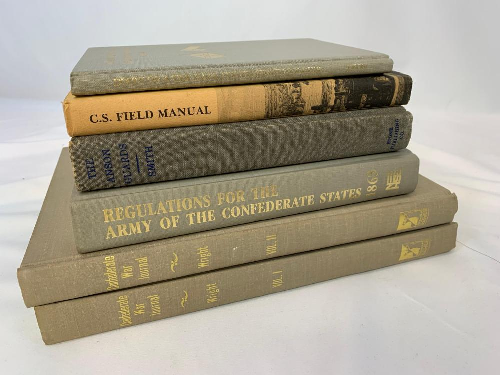 Lot of Confederate Related Books