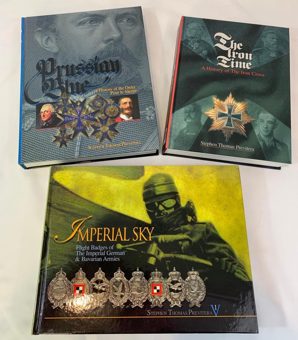3 Rare Imperial German Books