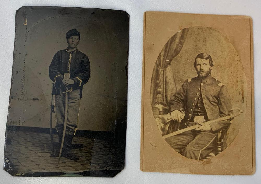 Two Civil War Images - 1 Identified