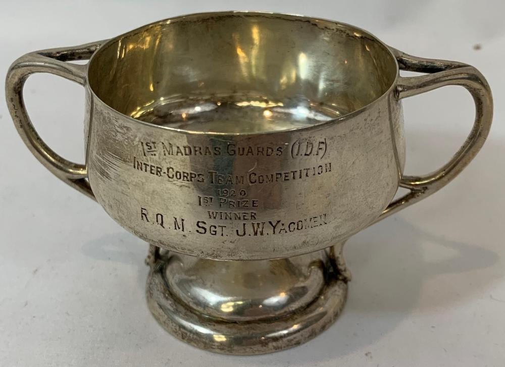British Regimental Presentation Silver Trophy