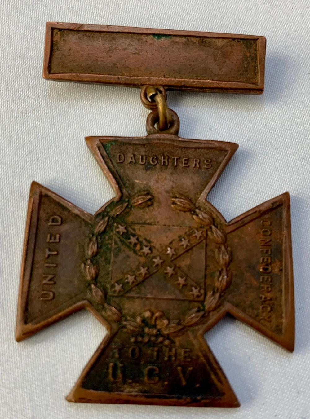 Confederate Southern Cross of Honor Medal