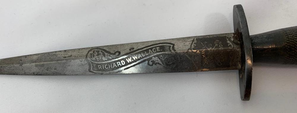 Rare Named Fairbairn Sykes Dagger