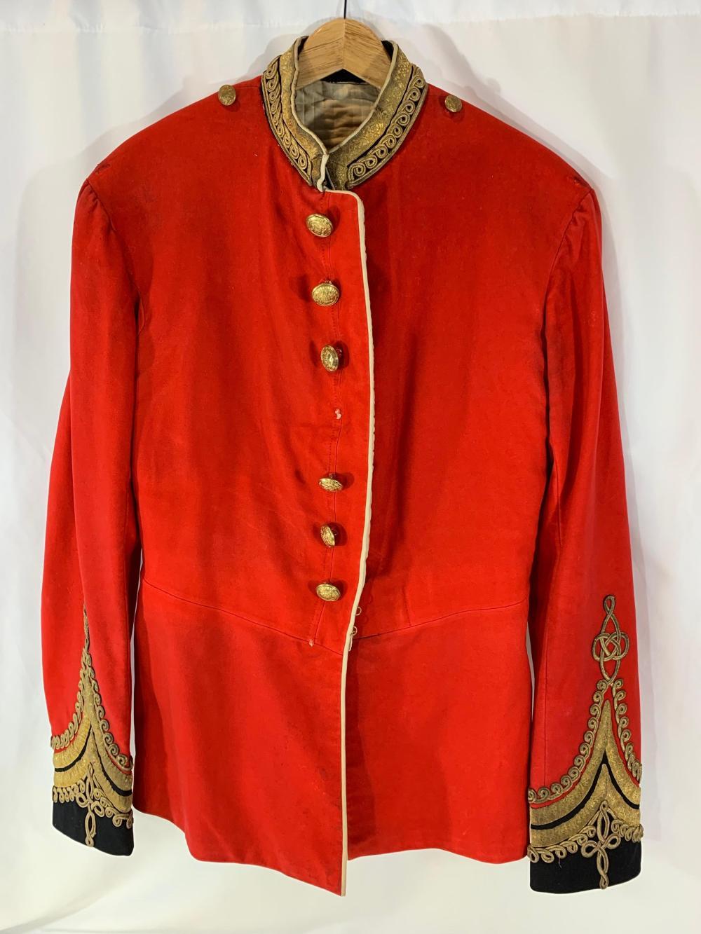 Victorian Officers Uniform Tunic