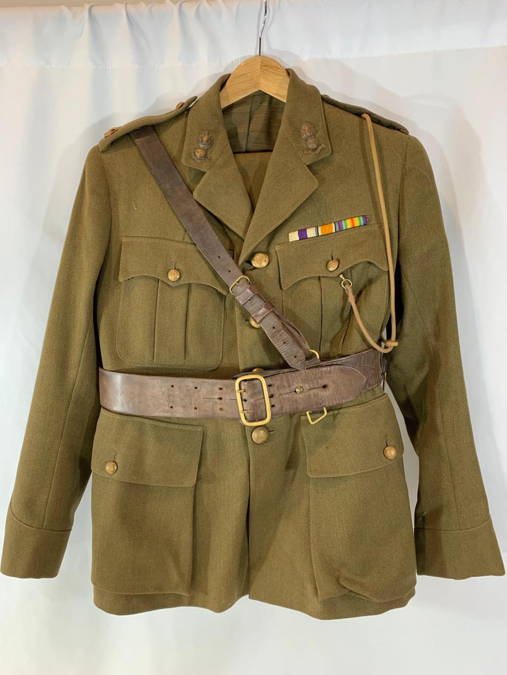 Military Cross Winner Royal Engineers Uniform