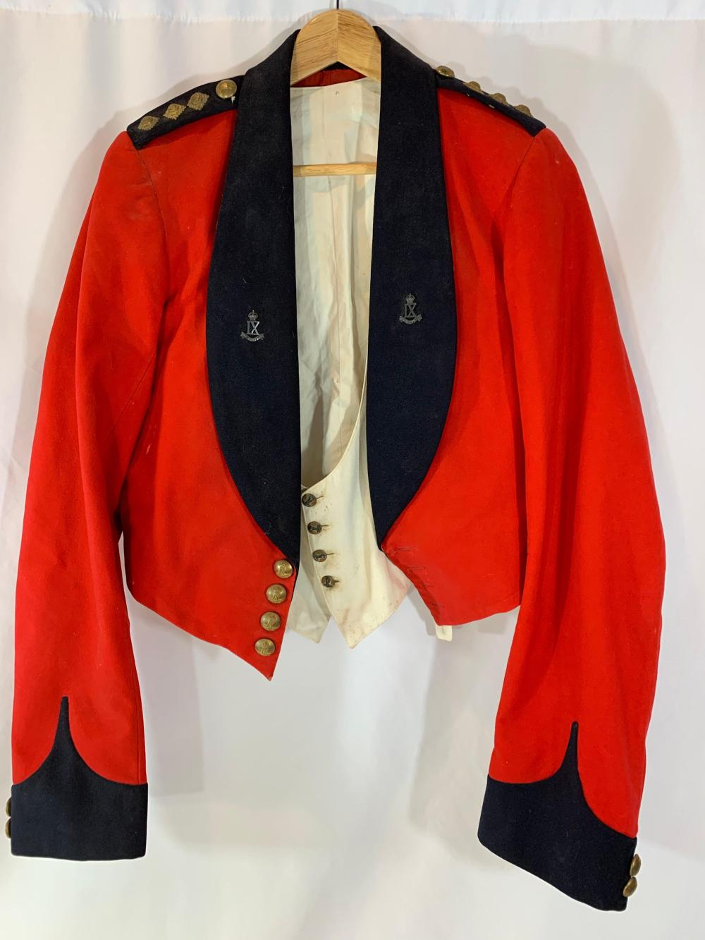IX JAT Regiment Mess Dress Uniform