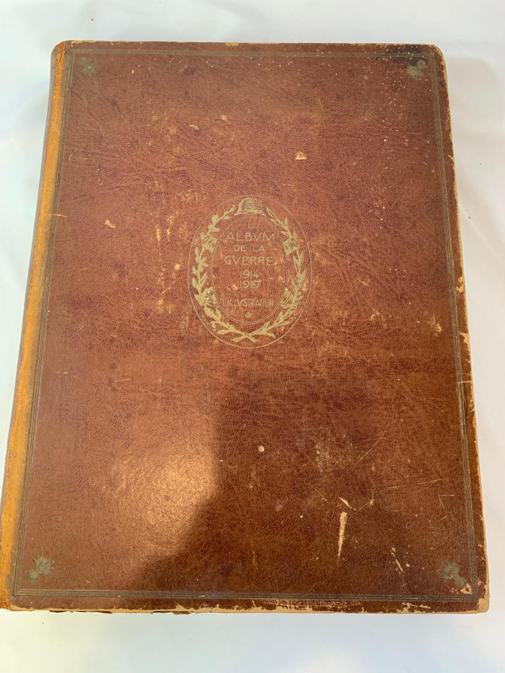 French WWI Era Military Book
