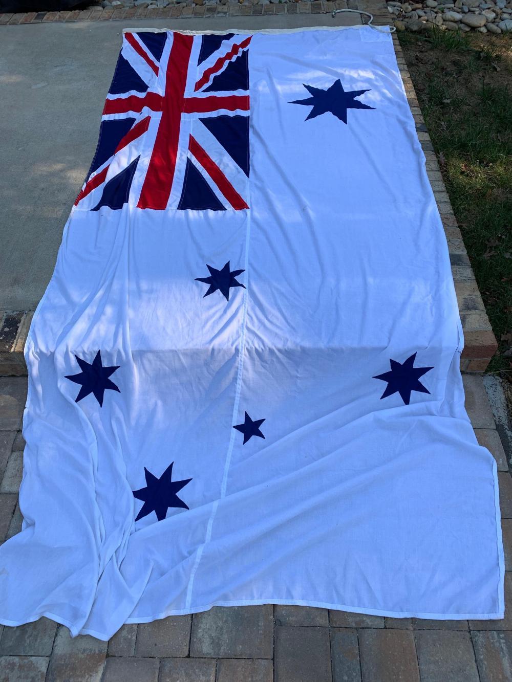 Giant Royal Australian Navy Flag