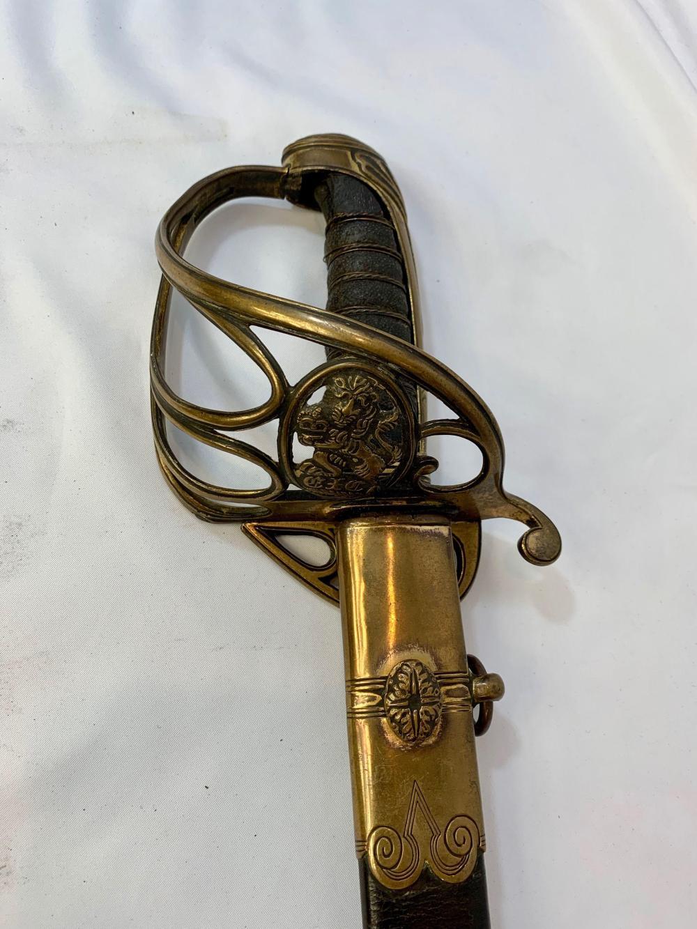East India Company Officers Sword & Belt