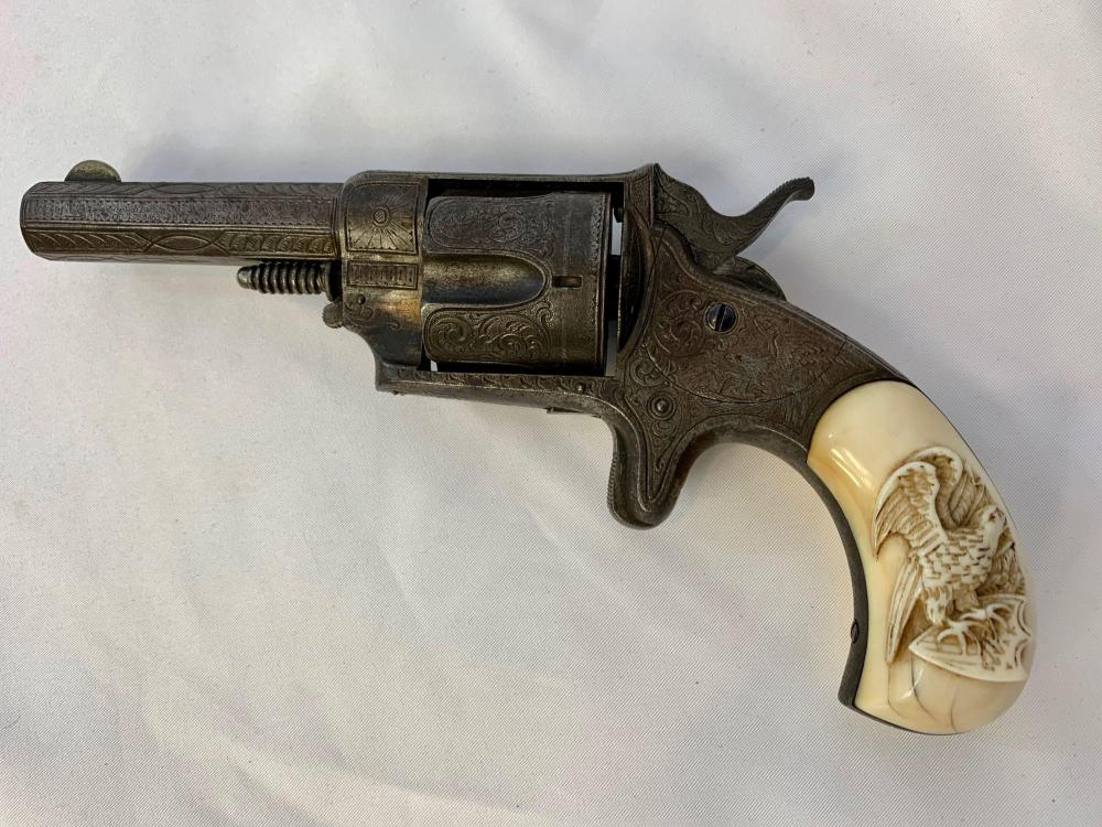 Exceptionally Rare Forehand & Wadsworth Revolver