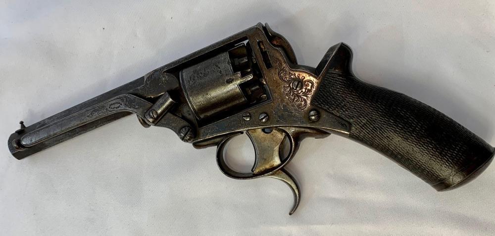 Two Trigger British Tranter Revolver