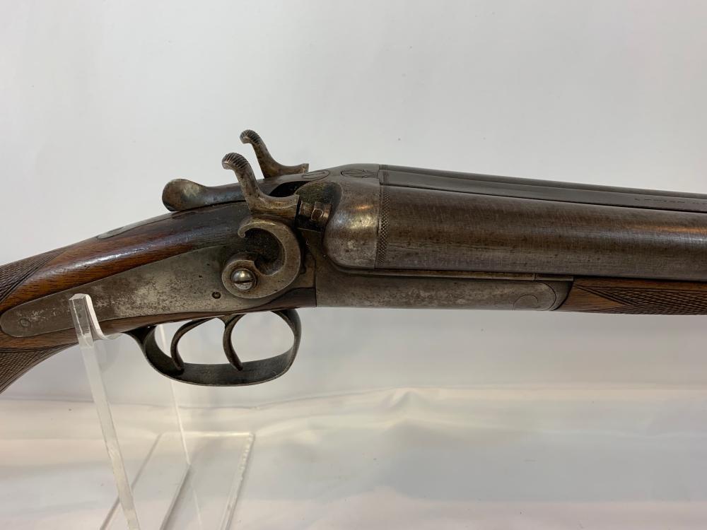 W.H. Hamilton 12 Gauge Hammer Shotgun