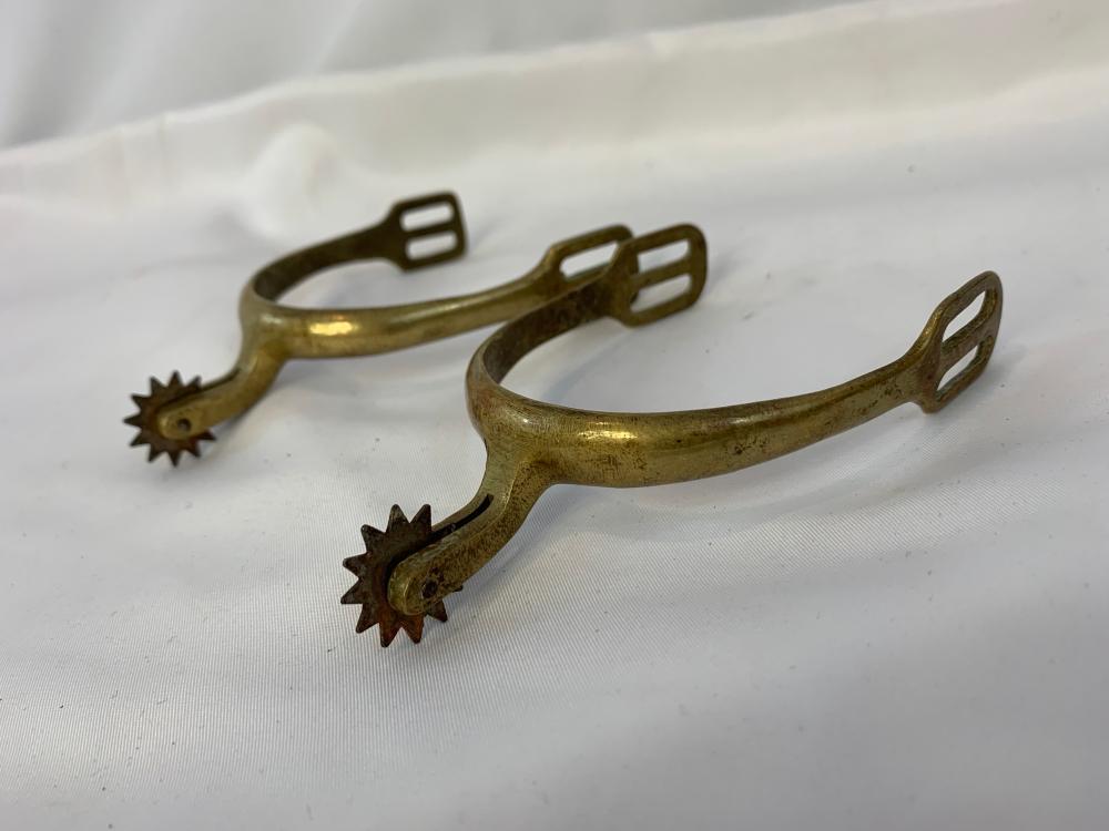 Civil War Era Cavalry Brass Spurs