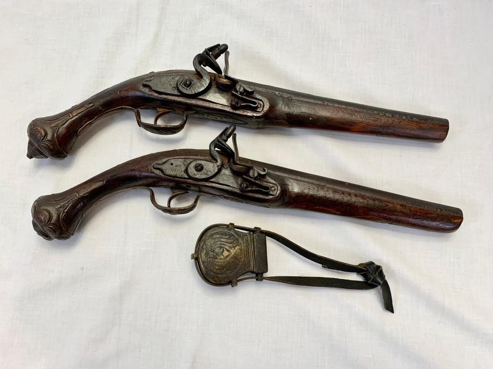 Arabic Flintlock Pistols