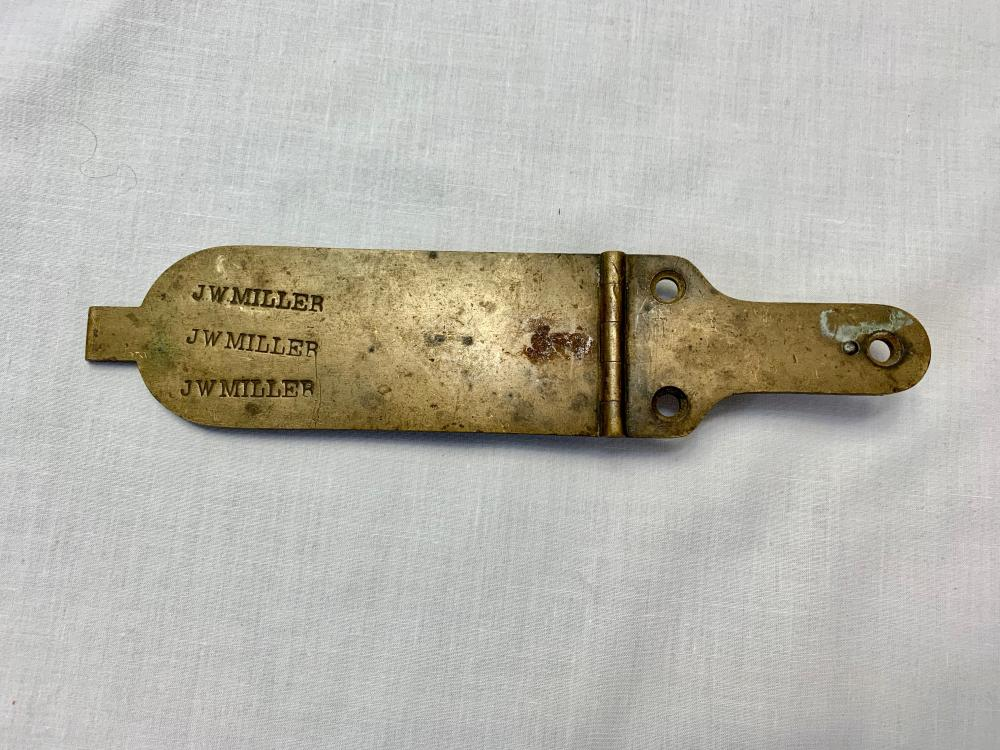 Identified Civil War Patch Box