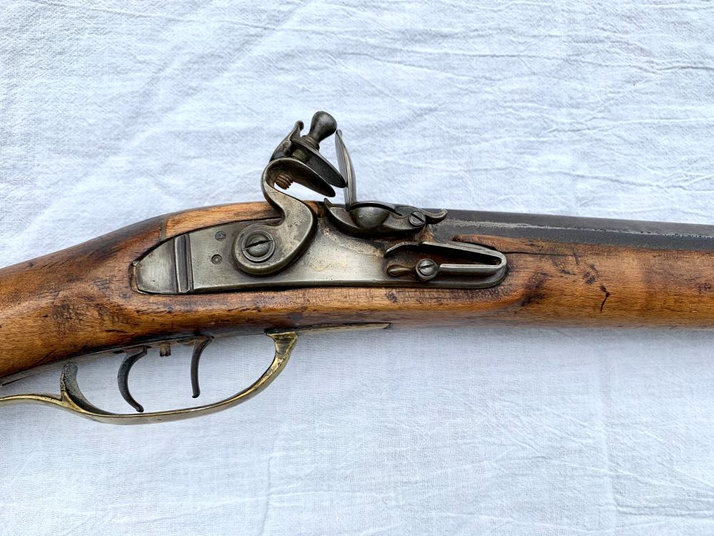 Id'd Southern Flintlock Rifle
