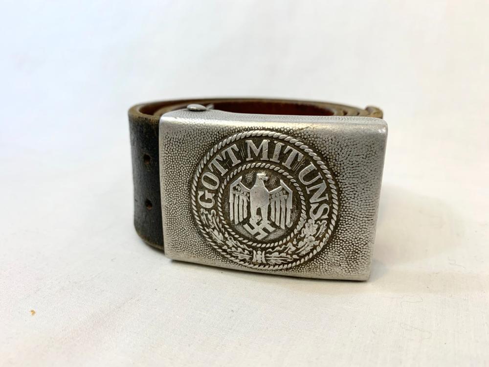 German WWII Army Belt Rig