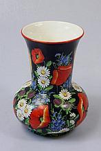 Vase floral pattern