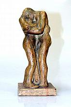 Statuette of two persons