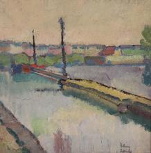 Hans Zank. 1898 Berlin - 1967 Falkensee - Lan...