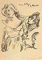 Lovis Corinth 1858 Tapiau - 1925 Amsterdam - 'Anna