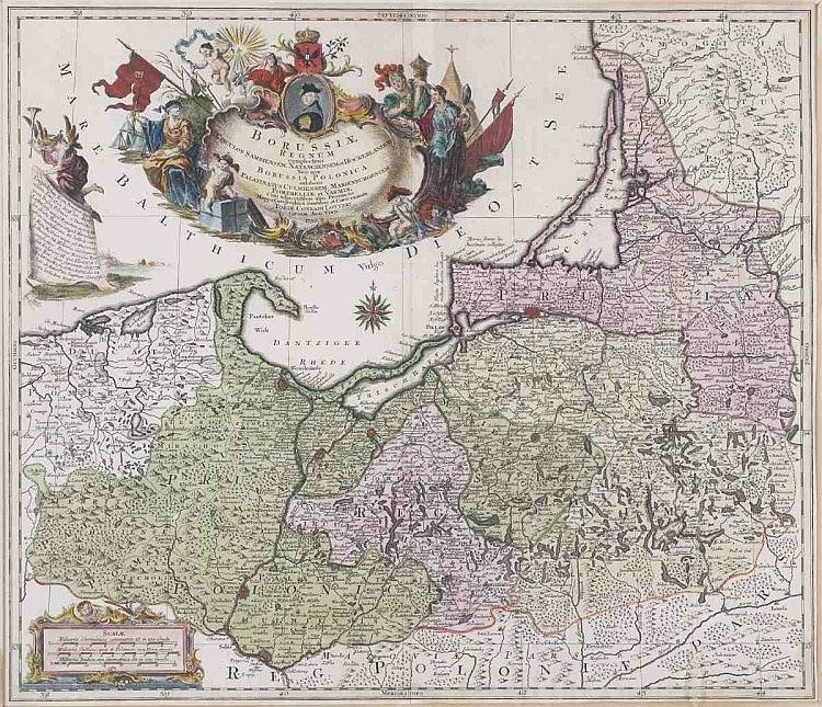 Tobias Konrad Lotter 1717 - 1777 - 'Borussiae...