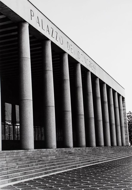 Günther Förg. Palazzo dei congressi, Rom 1942