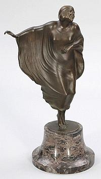 Berthold Stölzer 1881 - Art Déco-Tänzerin - B...