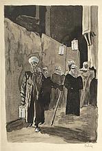 Emil Orlik 1870 Prag - 1932 Berlin - Araber
