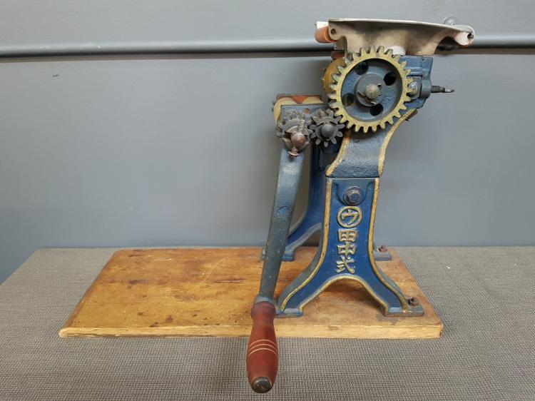 Antique Chinese Cast Iron Noodle Maker