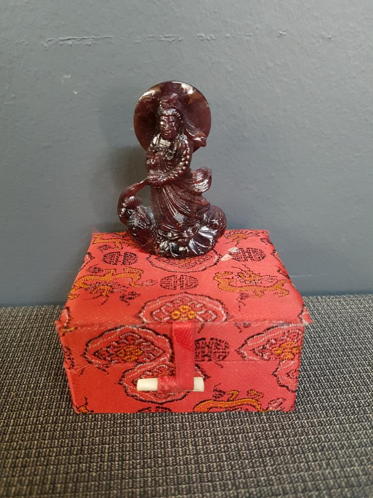 Agate Chinese Goddess Figurine
