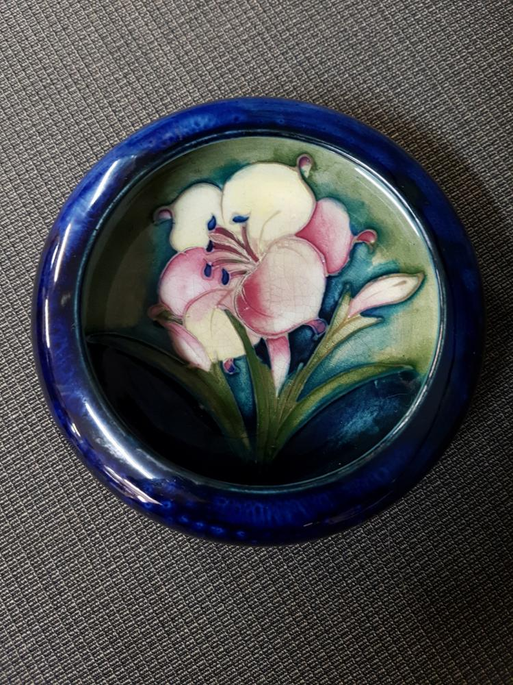 Moorcroft African Lily Dish