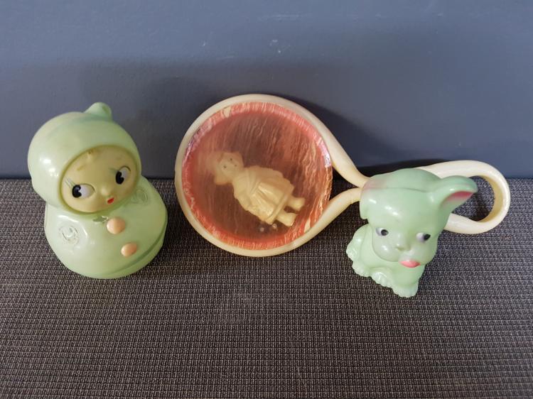 Lot of 3 Vintage Toys