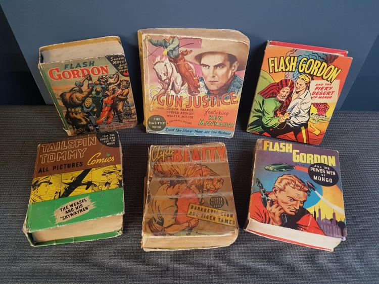 Lot of 6 1940s Comic Books