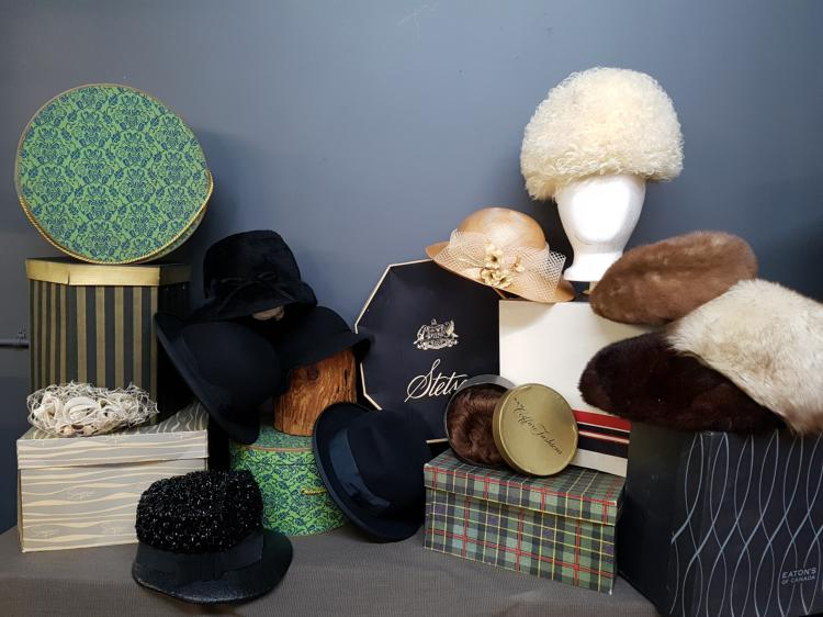Lot of 8 Vintage Hats