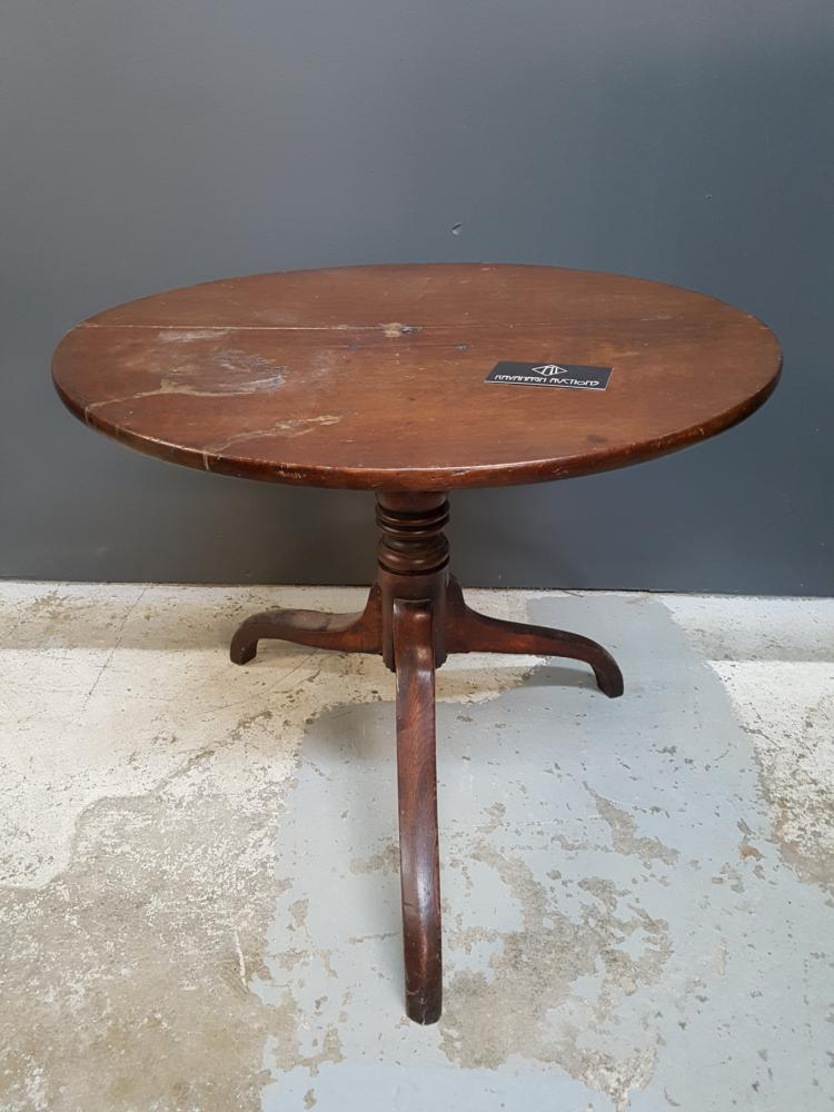 19th Century Tilt-top Side Table