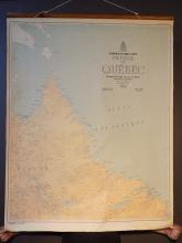 1951 Quebec Schoolhouse Map