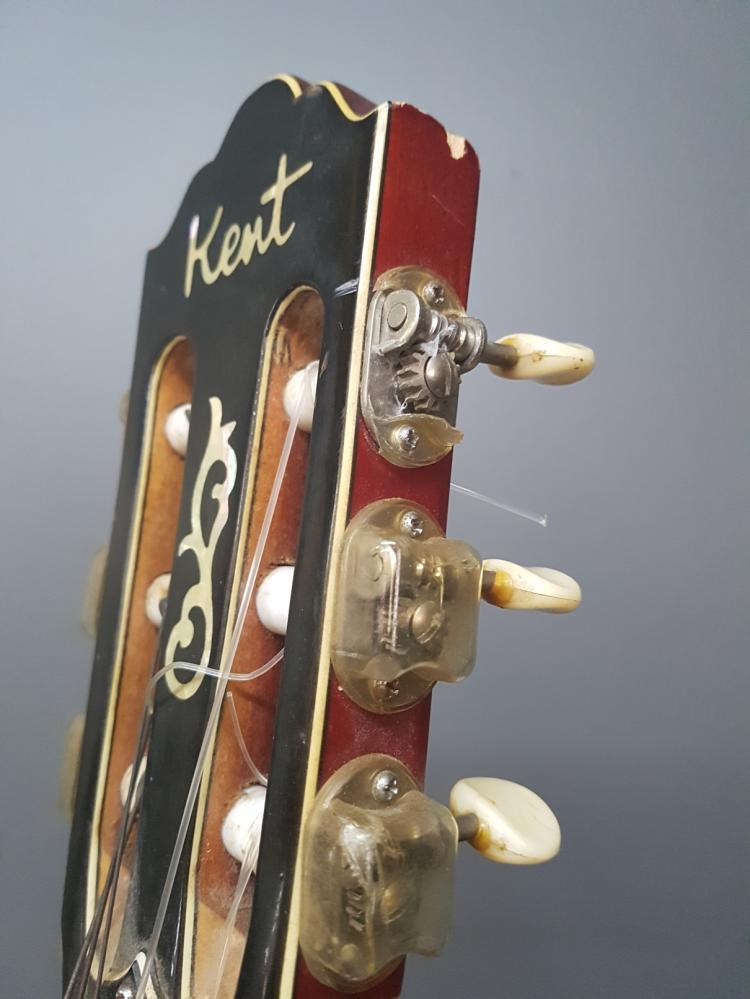 Vintage 1960s Kent Classical Guitar