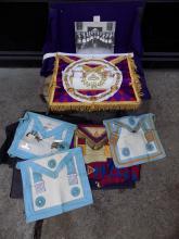 Lot of 5 Cases of Masonic Memorabilia