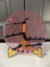 Art Glass Plate