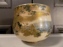 Very Finely Decorated Satsuma Bowl