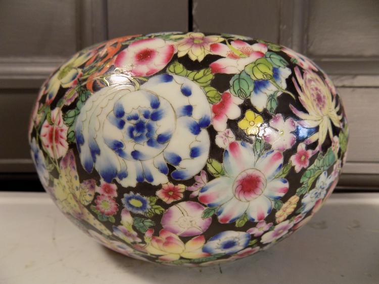 Guangxu Millefleur Bowl